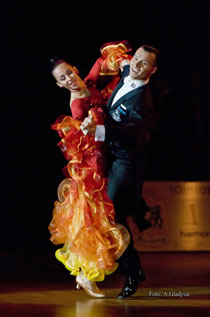 Р.Головащенко - мастер класс по танцевальному спорту